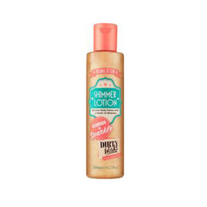 I Love - Dirty Works Shimmer Lotion