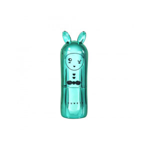 Inuwet Bunny Lip Balm Metal Turquoise χείλη
